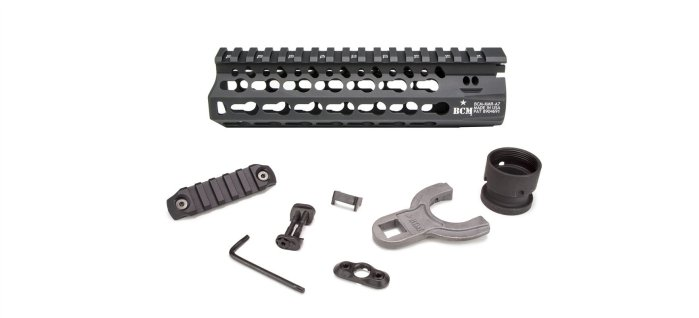 Bravo Company KMR ALPHA KeyMod Free Float Handguard (Options)