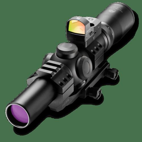 Burris Fullfield TAC30 Riflescope 1-4x24mm Combo Package