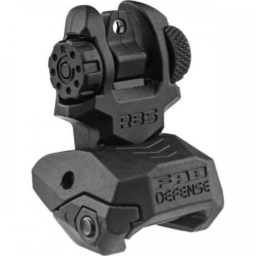 FAB Defense Folding Back-up Sight - Rear