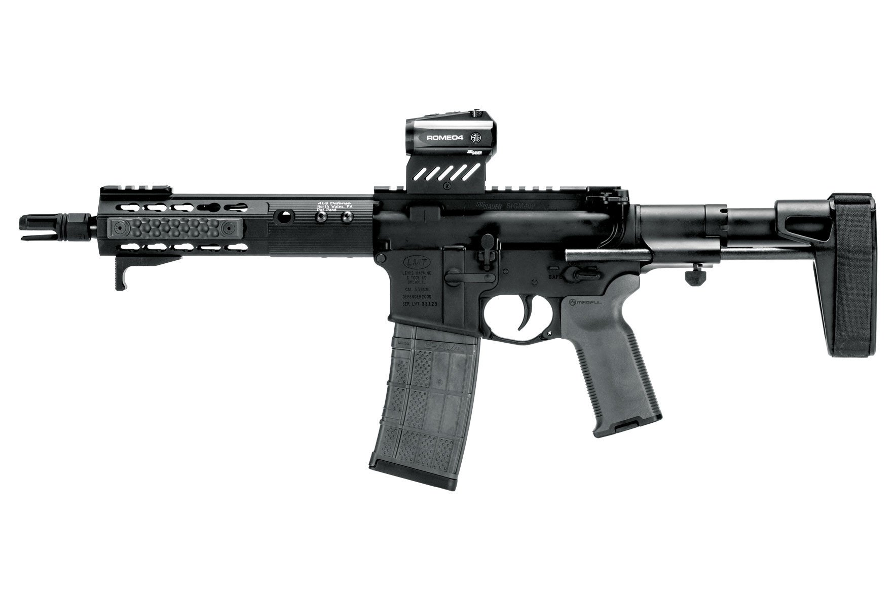 SB Tactical SBPDW Pistol Stabilizing Brace (Options)