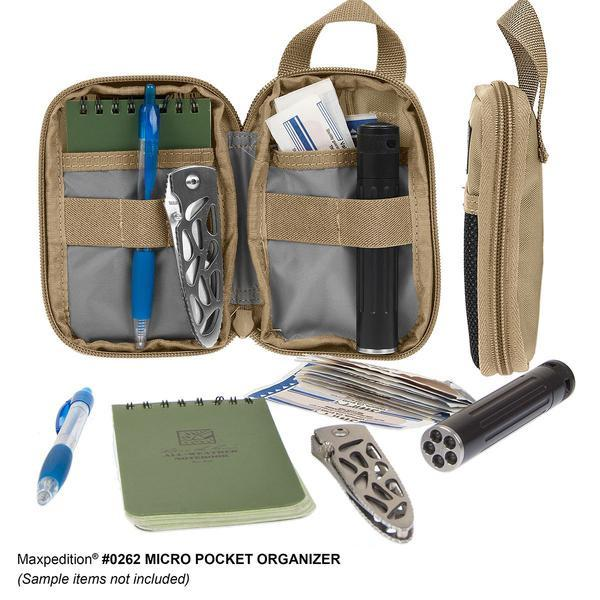 Maxpedition Micro Pocket Organizer (Options)