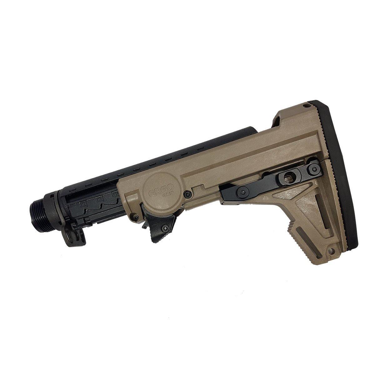 Ergo Grip F93 Pro Collapsible Stock Kit FDE
