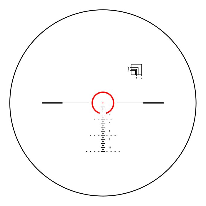 Shepherd Scopes Rugged Series Scope 1-8x24 Illuminated Reticle (Options)