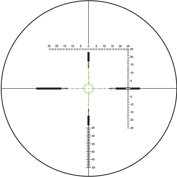 Shepherd Scopes Rogue Series Scope Illuminated Reticle (Options)