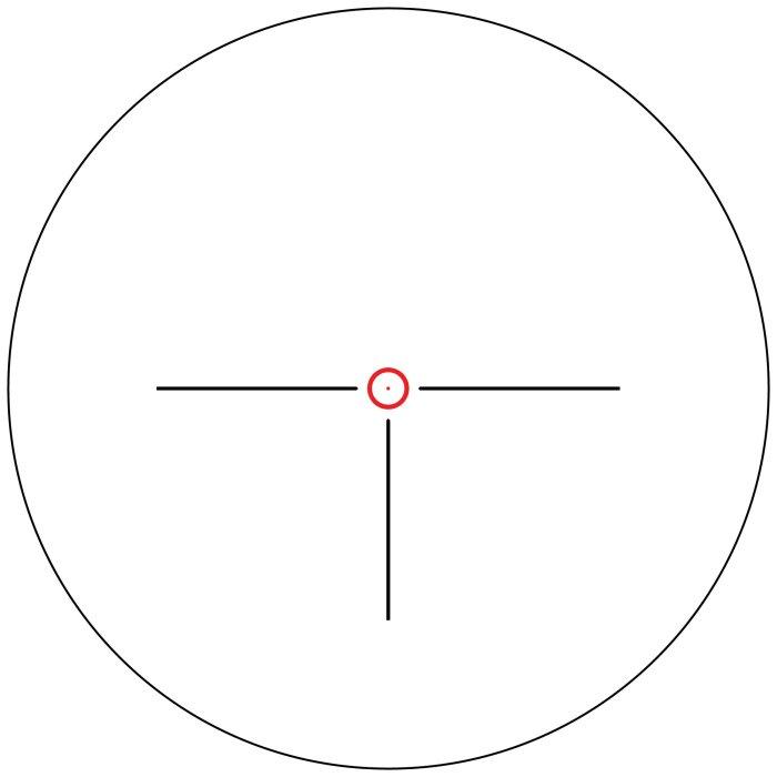 Shepherd Scopes Salvo Series 1-4×24 Illuminated Circle Dot