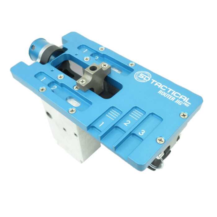5D Tactical Router Jig PRO Universal 80% Lower Receiver Jig (Options)