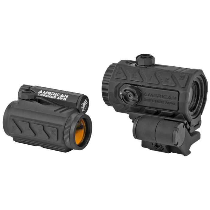 American Defense Mfg Duo Spek/Flik3 Optic/Magnifier Package - MSR Arms 1