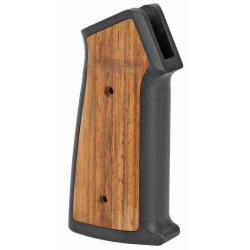 Sharps Bros. Aluminum & Wood AR Grip With MLOK Handguard Panels - MSR Arms