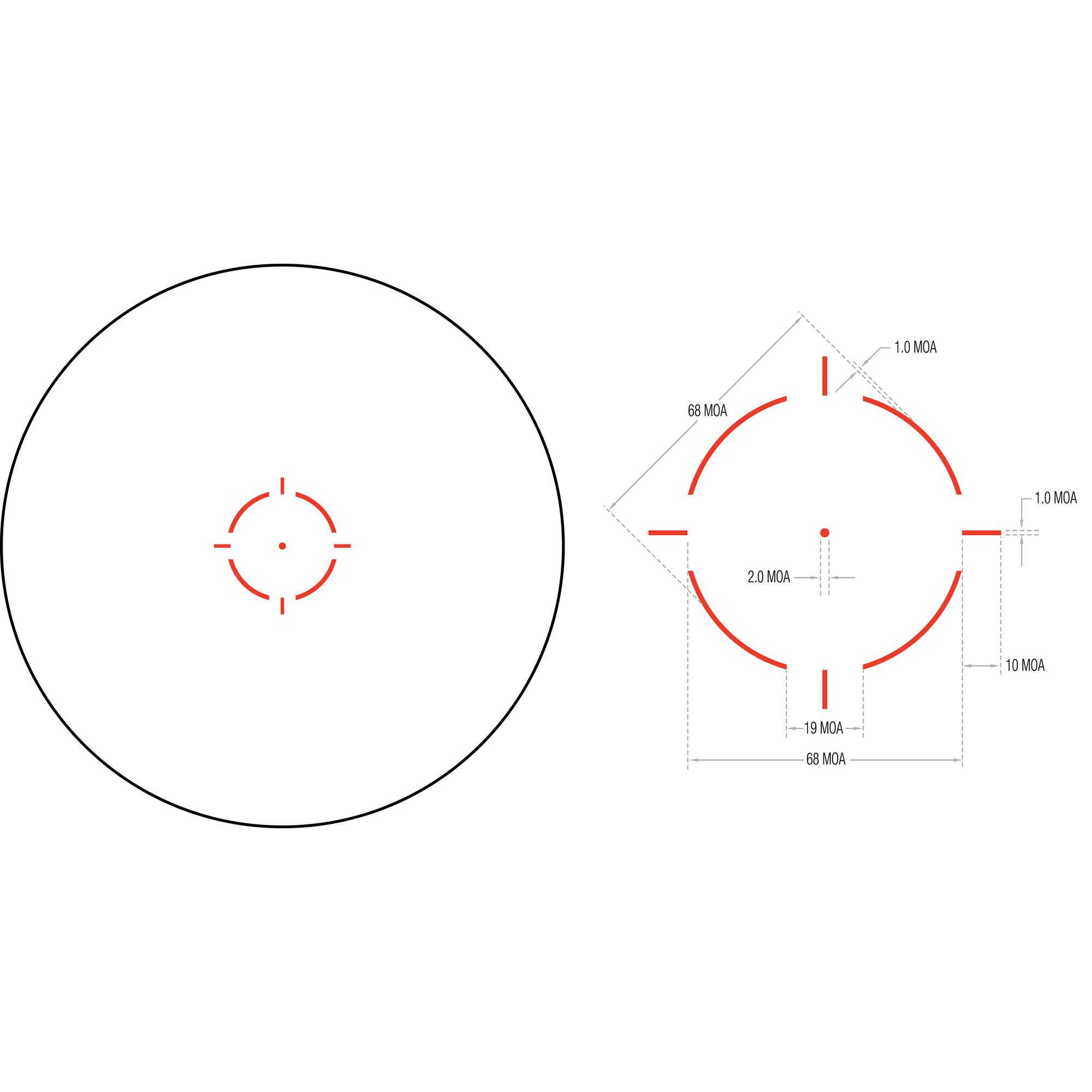 Trijicon MRO HD Red Dot Sight - MSR Arms 3