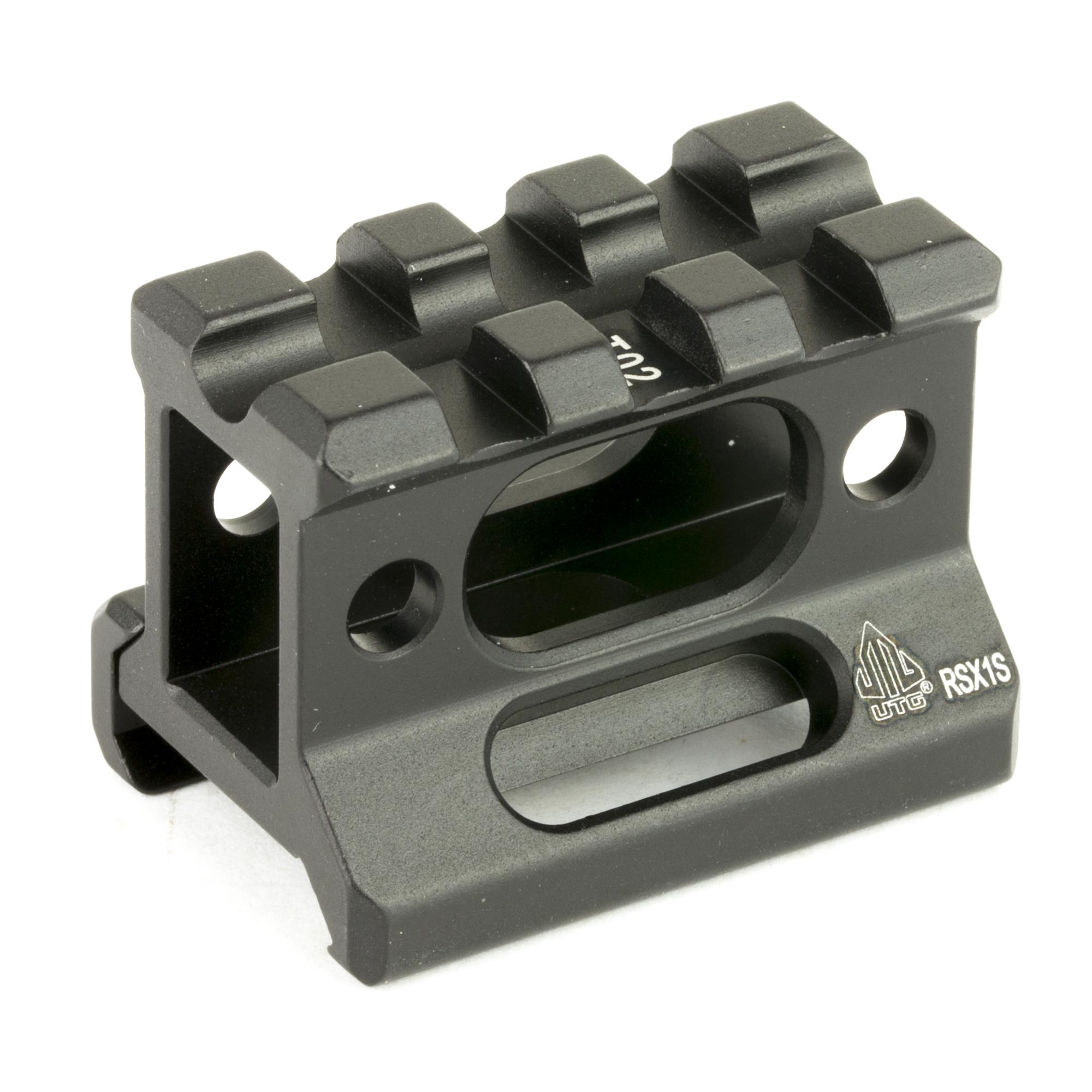Leapers UTG Super Slim Picatinny Riser Mount - MSR Arms 4