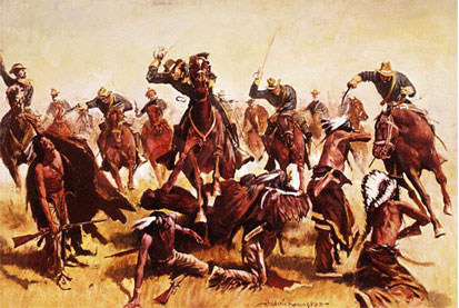 Soldiers-attacking-Indians