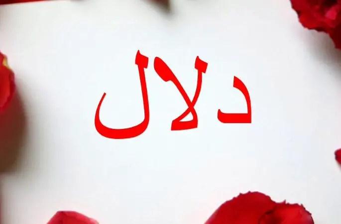 معنى اسم دلال وصفاته في اللغة العربية موقع مصري