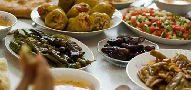 كيف أرتب سفرة رمضان موقع مصادر