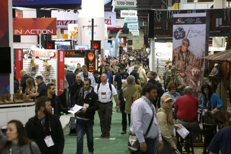 The Booths at SHOT Show
