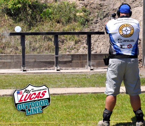 The Lucas Oil Outdoor Products Falling Plates Event Featuring SFP Sponsored Shooter Mark Itzstein