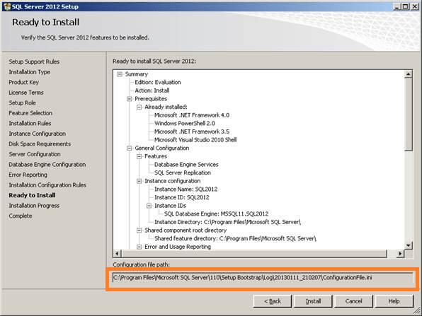 Configuration file