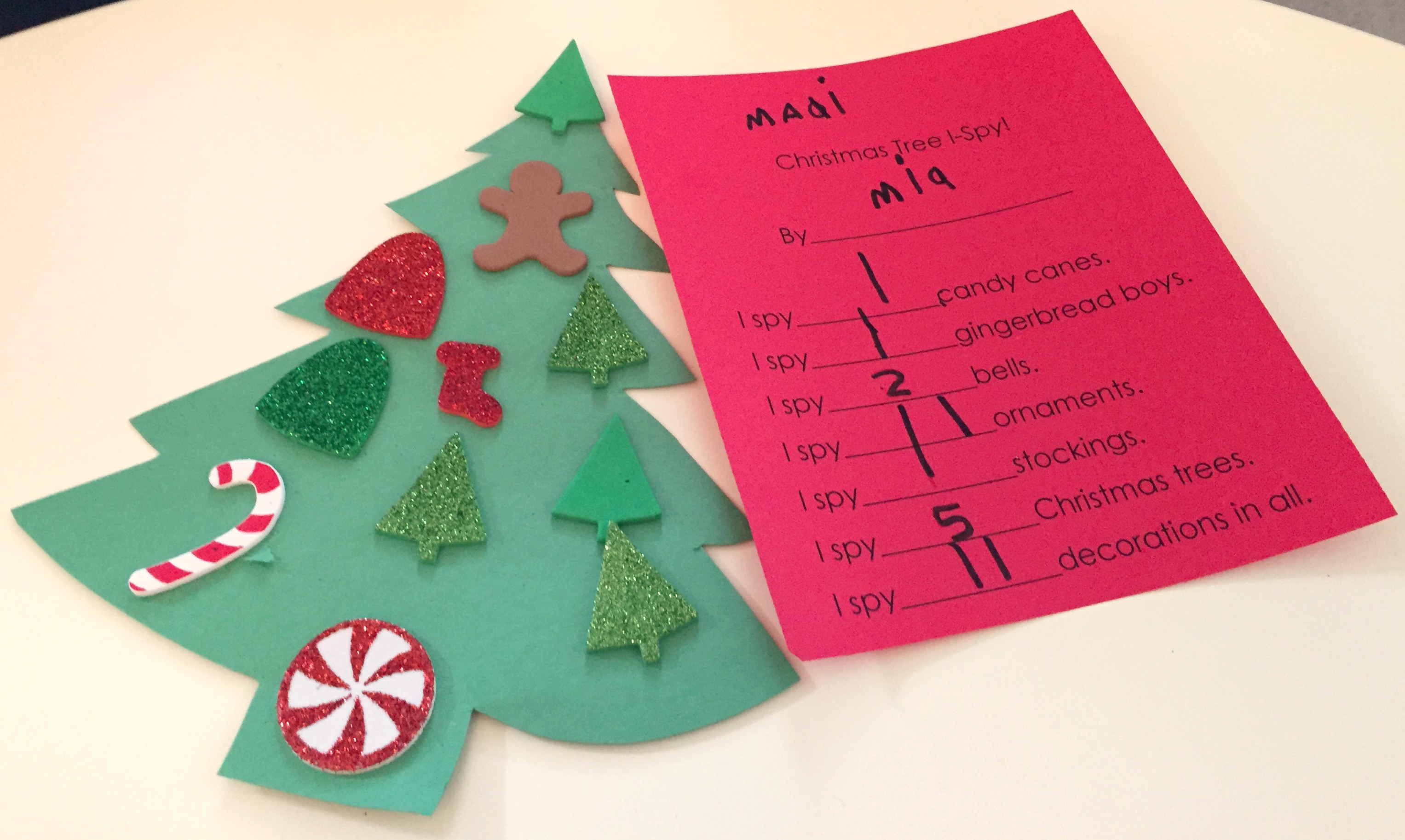 Christmas Trees And Reindeer Preschool Activities