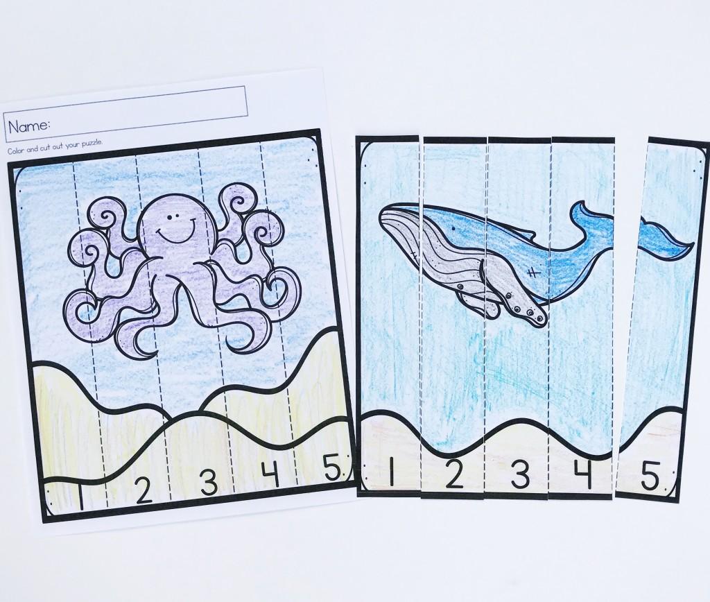 Ocean Animal Activities For The Preschool Classroom