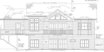 Chapel Ridge Estate 10 Rear Elevation