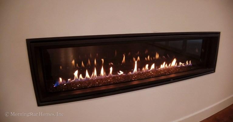 "60"" Linear fireplace"