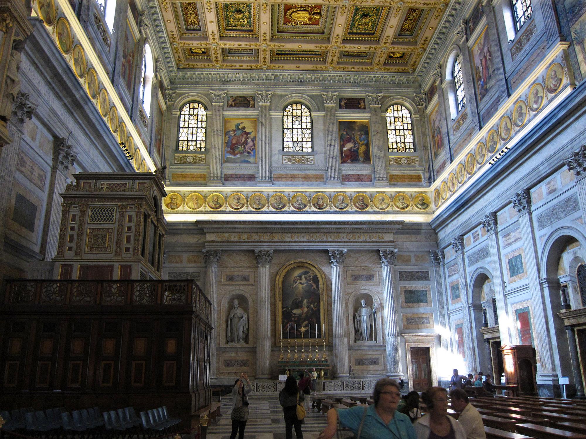Inside St Paul Outside Walls