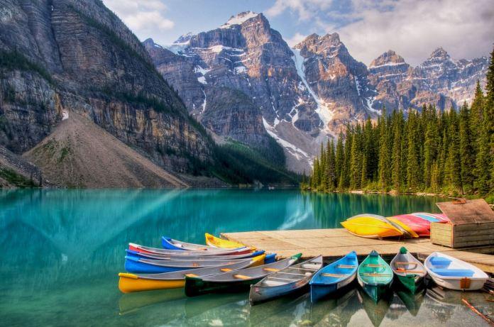moraine lake .. Canada - (3)