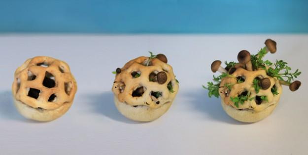 3D列印美食:新鮮到吃下去之前食物還是活著的!