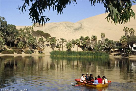 秘魯乾旱沙漠中的綠洲絕非海市蜃樓,而是一個夢幻小鎮,看完想住進去! 3