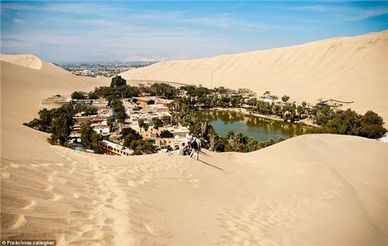 秘魯乾旱沙漠中的綠洲絕非海市蜃樓,而是一個夢幻小鎮,看完想住進去! 9