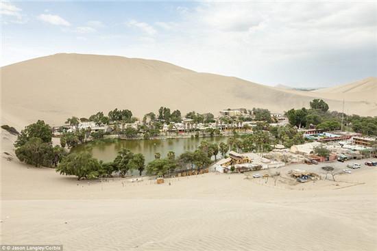 秘魯乾旱沙漠中的綠洲絕非海市蜃樓,而是一個夢幻小鎮,看完想住進去! 10