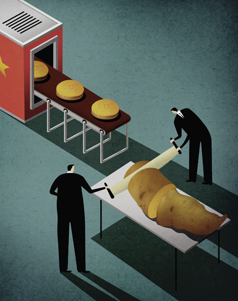 17張諷刺台灣與國際的插畫,最後一張會讓所有「文創」人落淚!
