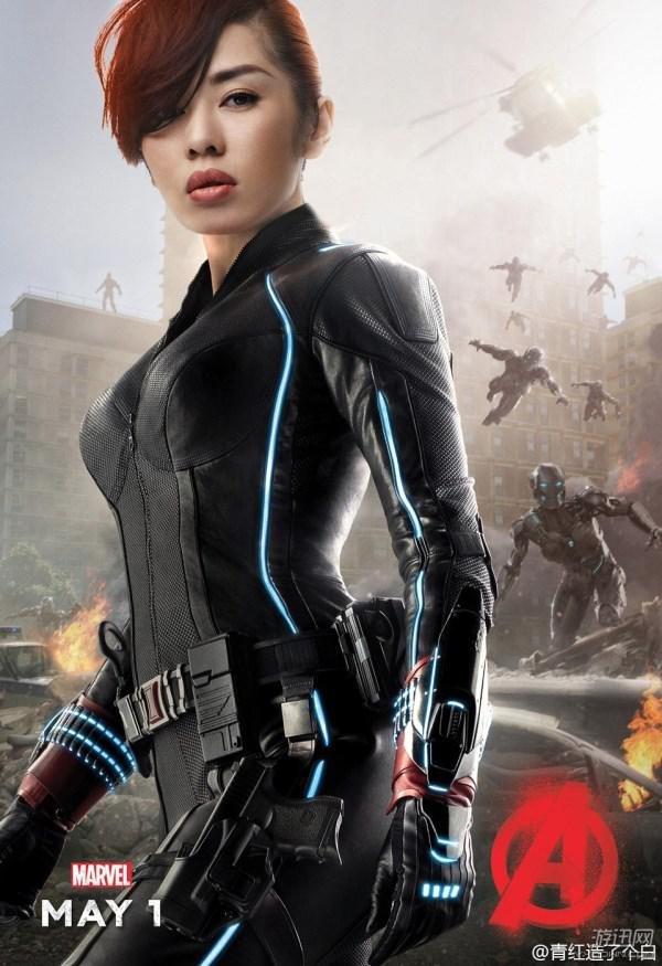 如果《復仇者聯盟2》英雄全換成亞洲人,結果可能會比原版還要精采