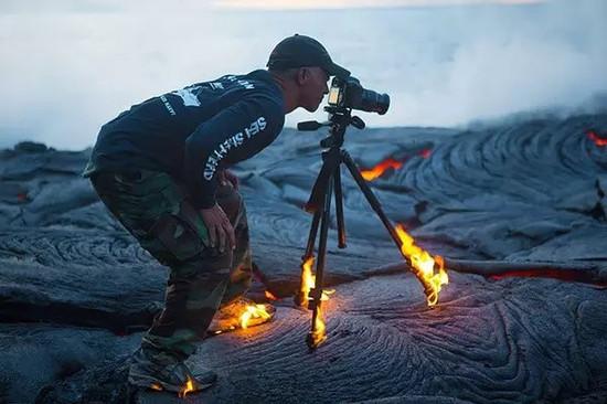 有一種攝影叫赴湯蹈火