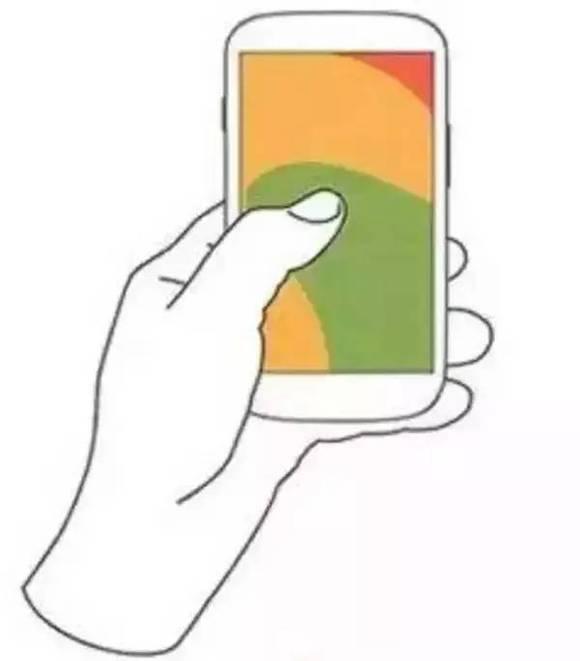 拿手機的姿勢竟決定你的性格,看看準不準!