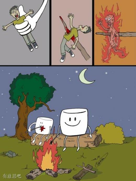 当世界被颠倒,人类你受到的只是你自己施加他人身上的!