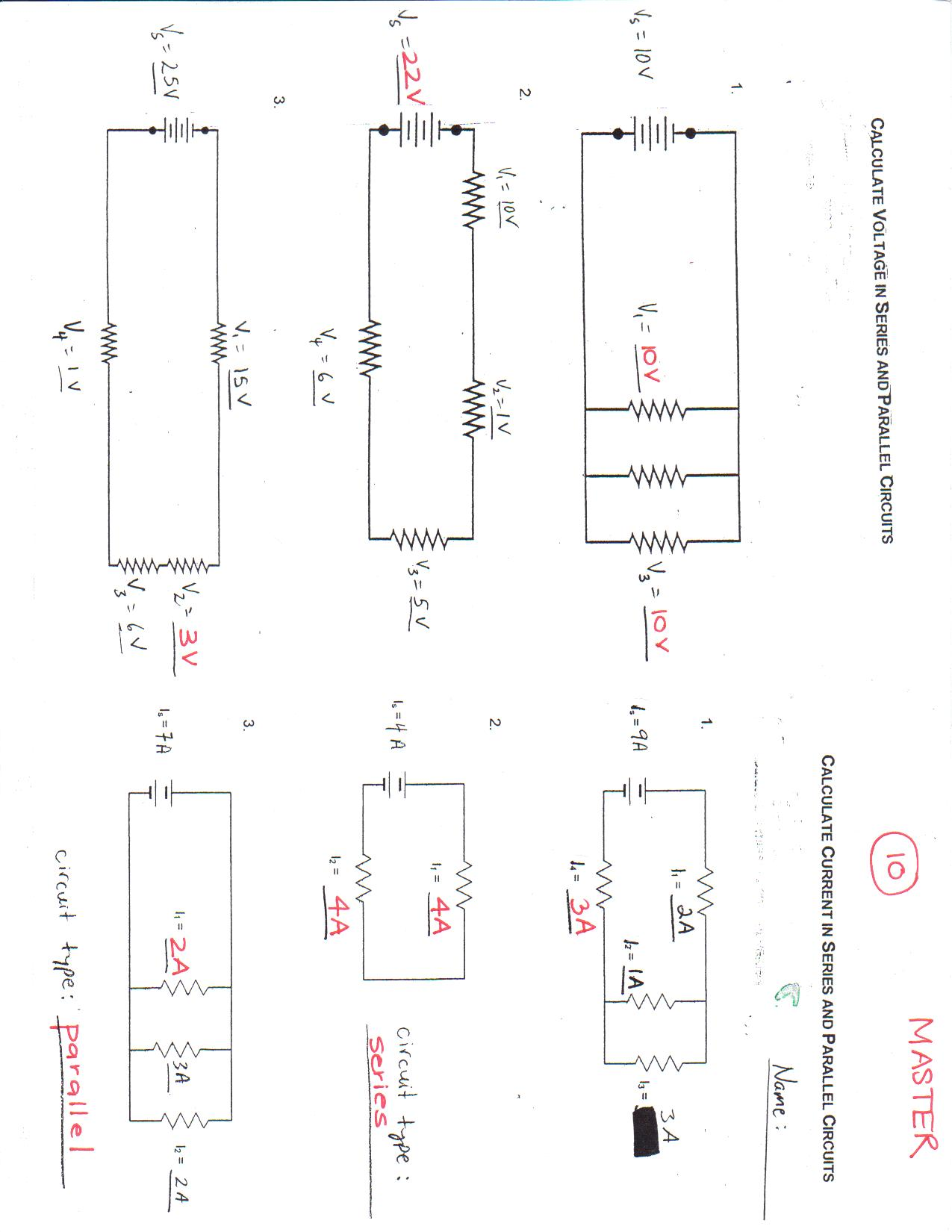 Schematic Symbols Chart Answers Pltw