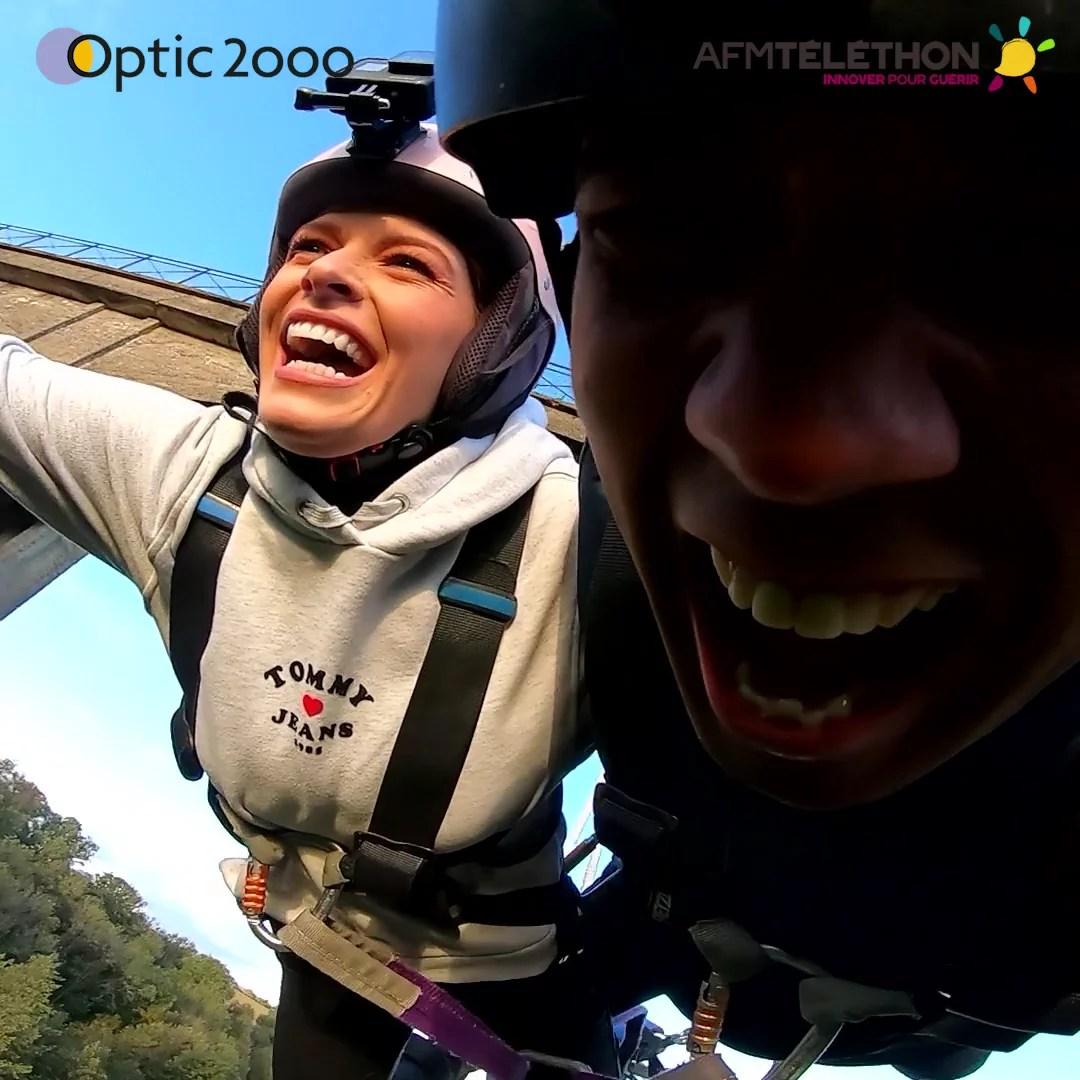 Optic 2000 - Saut à l'élastique Téléthon