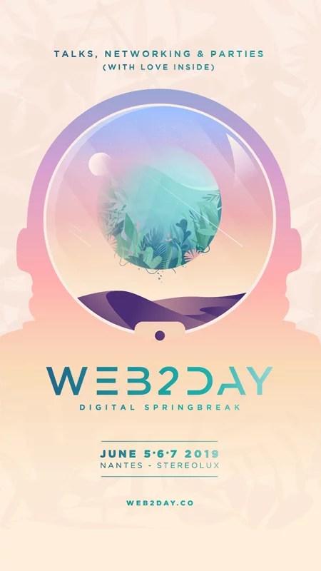 affiche du web2day 2019