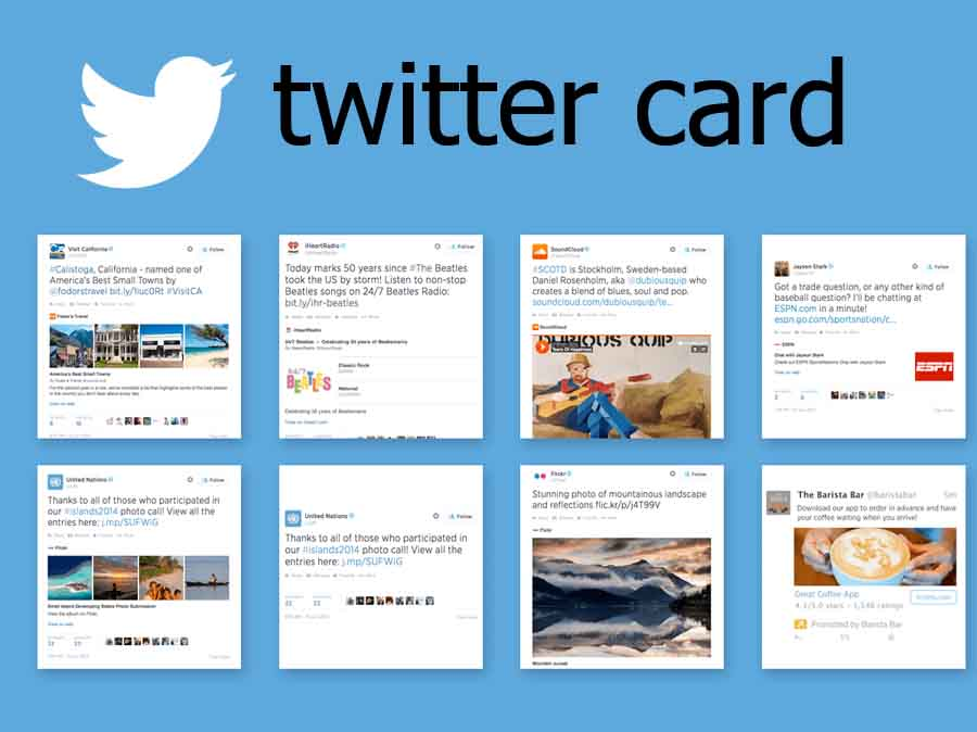 Twitter Card - How to Create a Twitter Card   Twitter Card ...