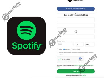 Spotify Sign up - How to Sign up For a Free Spotify Account