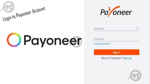 Login to Payoneer Account: How to Login to Payoneer Account