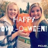 Chi Omega Carved Pumpkins!