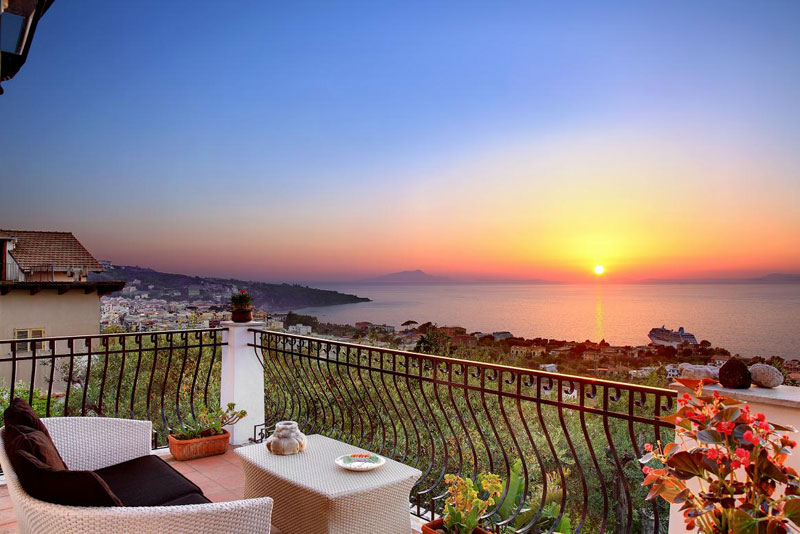 Sorrento Italy Apartment With Panoramic View And Sunset M Suites Sorrento