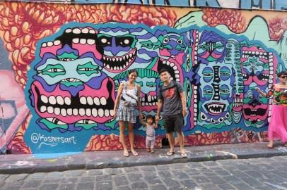 Streetart @ Hosier Lane.