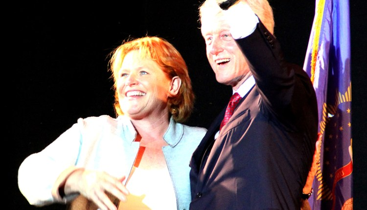 Bill Clinton visits Fargo
