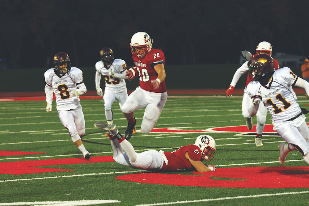 a7b6fb34b Hot At Home  Dragon football remains undefeated on Scheels field