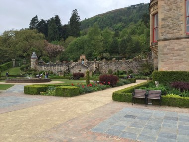 Backyard of the castle