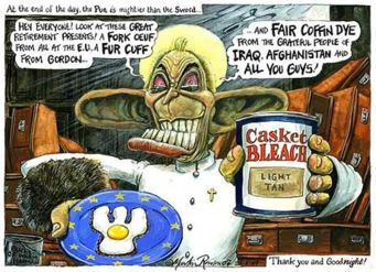 Political cartoon by Martin.