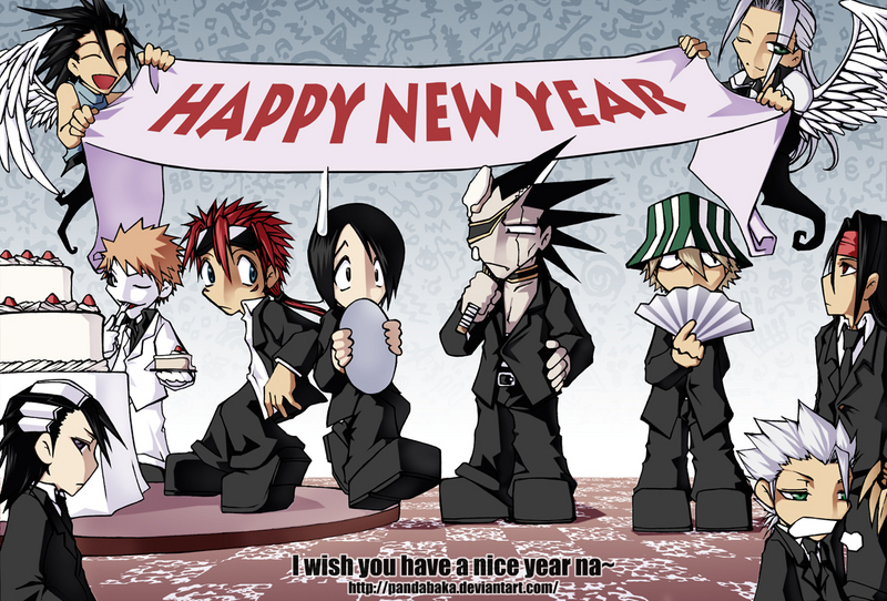 Happy New Year   SAJAC Blog Celebrating New Year s with all the anime people  Advertisements