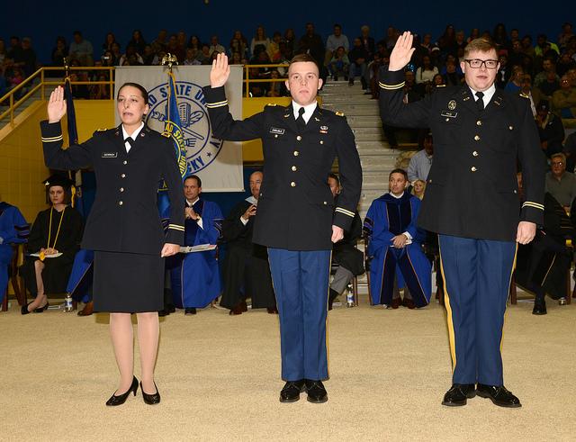 Image: ROTC Cadets